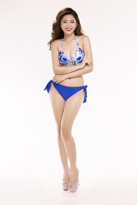 Nguoi dep Hoa hau Viet Nam 2016 tao dang voi bikini hinh anh 26