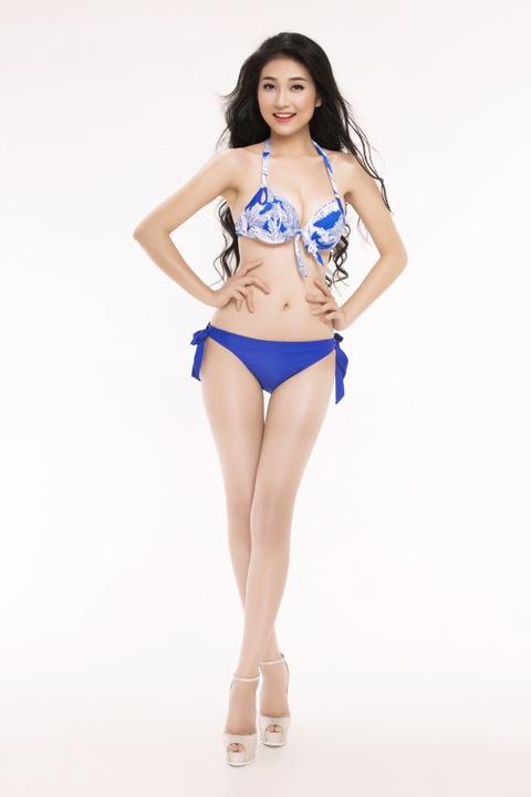 Nguoi dep Hoa hau Viet Nam 2016 tao dang voi bikini hinh anh 29