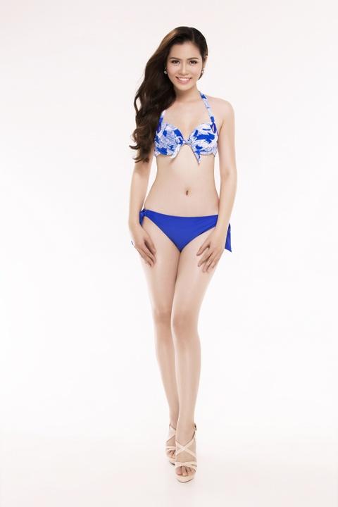Nguoi dep Hoa hau Viet Nam 2016 tao dang voi bikini hinh anh 30