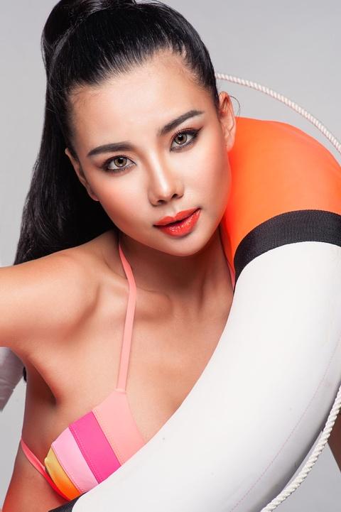 Lai Thanh Huong tu van trang diem mua he hinh anh 4