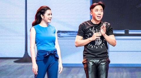 Ly Nha Ky lam MC khien Tran Thanh kho so hinh anh