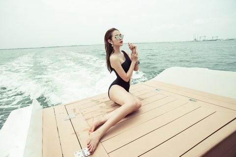 Diep Bao Ngoc choi boxing de co vong eo 58 cm hinh anh 1