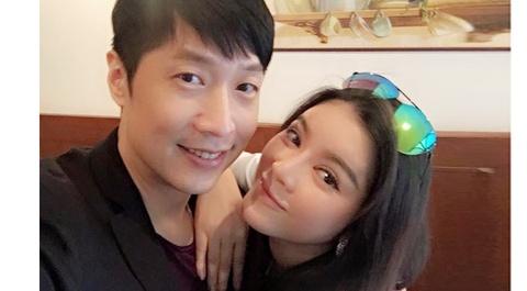 Ly Nha Ky sang Hong Kong an trua cung sao TVB hinh anh
