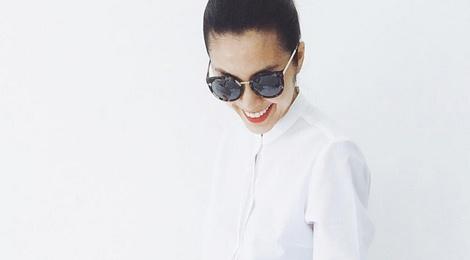 Tang Thanh Ha, Minh Hang dien so-mi don gian hinh anh