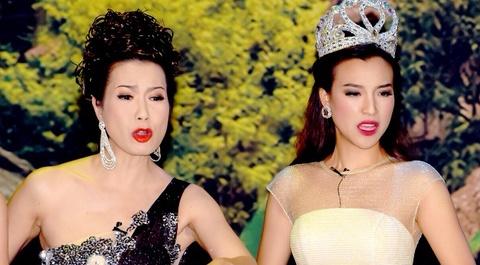 Trinh Kim Chi dong vai ba bau Hoa hau Ao lang hinh anh