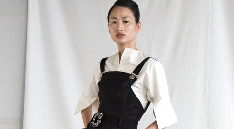 Fashionista Thanh Truc goi y 10 bo canh thanh lich hinh anh
