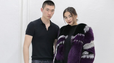 Nguoi mau hang dau Nhat Ban casting cho show dien cua Cong Tri hinh anh