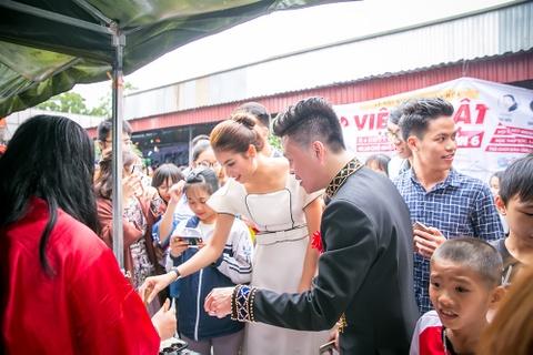 Pham Huong rang ro trong buoi giao luu van hoa Viet - Nhat hinh anh 4
