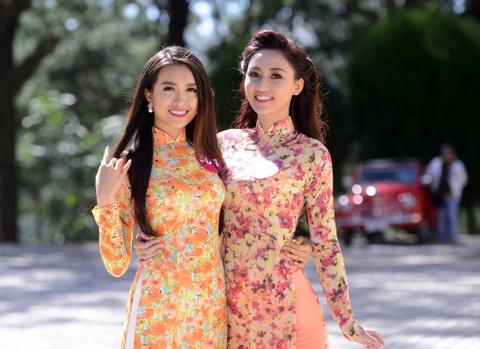 Nguoi dep Hoa hau HVVN dien ao dai trong nang Da Lat hinh anh 8