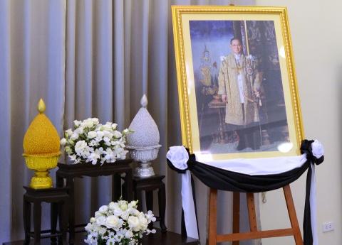Doan nguoi xep hang vieng nha vua Thai Lan tai Ha Noi hinh anh 2