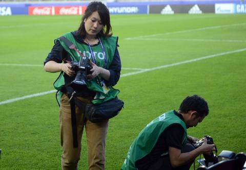 Nhung bong hong phong vien anh U20 World Cup tai Han Quoc hinh anh 9