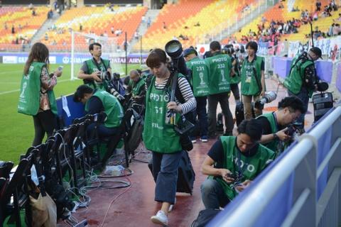Nhung bong hong phong vien anh U20 World Cup tai Han Quoc hinh anh 3