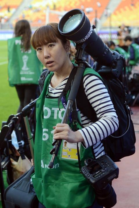 Nhung bong hong phong vien anh U20 World Cup tai Han Quoc hinh anh 11