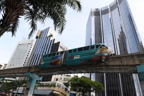 Can canh cac tuyen metro o Malaysia hinh anh