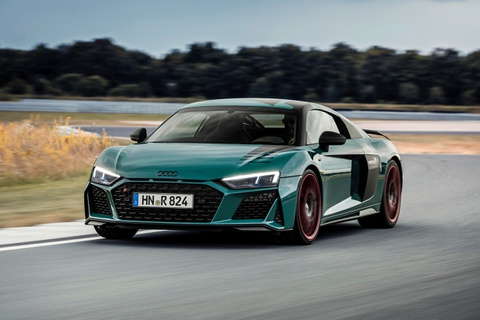 Audi R8 Green Hell Edition - chiec xe danh cho truong dua hinh anh