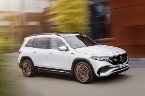 Mercedes-Benz EQB duoc ra mat hinh anh