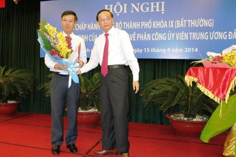 Ong Vo Van Thuong lam Pho bi thu Thanh uy TP.HCM hinh anh