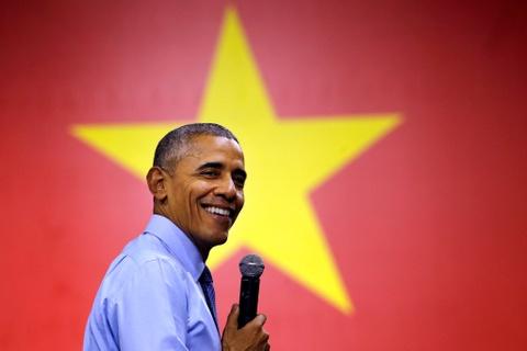 Tong thong Obama roi Sai Gon, ket thuc chuyen tham Viet Nam hinh anh