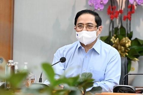 Mot ngay lam viec cua Thu tuong Pham Minh Chinh tai TP.HCM hinh anh