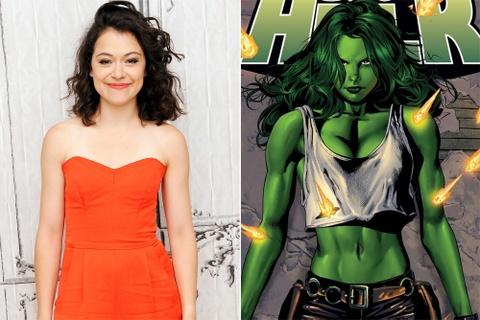 Tatiana Maslany duoc chon vao vai sieu anh hung She-Hulk hinh anh