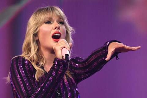 Taylor Swift huy toan bo ke hoach luu dien Lover Fest hinh anh