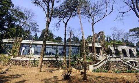 Resort khong phep o Ba Vi nam trong quy hoach duoc xay dung hinh anh