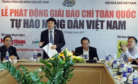 Phat dong giai bao chi toan quoc 'Tu hao Nong dan Viet Nam' hinh anh
