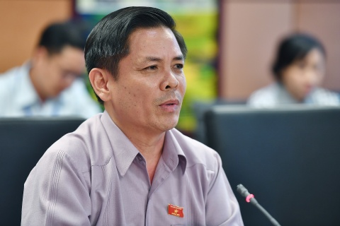 Bo truong GTVT Nguyen Van The phat bieu chieu 31/5 hinh anh