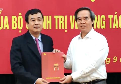 Ong Ngo Dong Hai lam Pho bi thu Thuong truc Tinh uy Thai Binh hinh anh