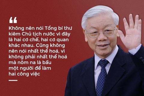 Gioi thieu Tong bi thu Nguyen Phu Trong de Quoc hoi bau Chu tich nuoc hinh anh 1