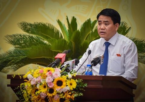 Chu tich Ha Noi Nguyen Duc Chung nhan duoc 84 phieu tin nhiem cao hinh anh