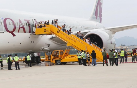 Chính thức mở đường bay thẳng từ Đà Nẵng tới Doha