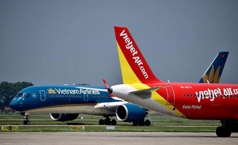 Vietnam Airlines lai gan 3.000 ty do doi thu bi han che cong suat hinh anh