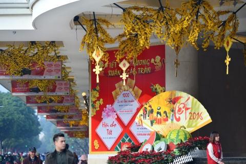Pho phuong Ha Noi ruc ro don Tet Binh Than hinh anh 5