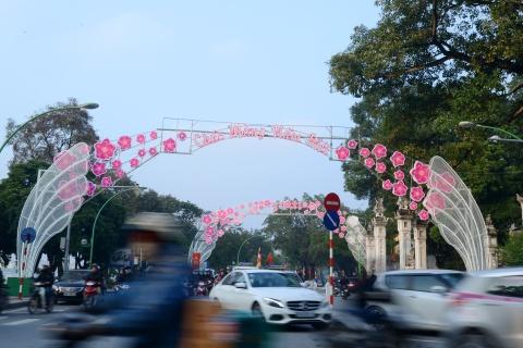Pho phuong Ha Noi ruc ro don Tet Binh Than hinh anh 6