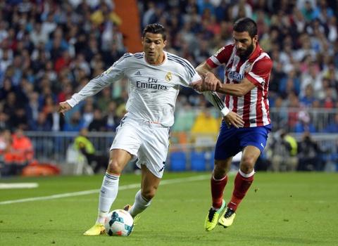 Ronaldo mo nhat, Real thua be bang Atletico Madrid hinh anh