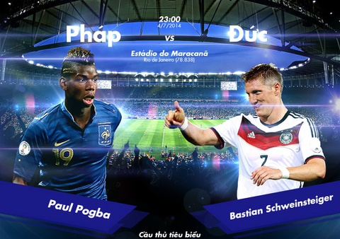 Phap - Duc: Dai chien nong nhat World Cup 2014 hinh anh