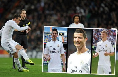 Real Madrid so huu 4 co dai phao tam xa hinh anh