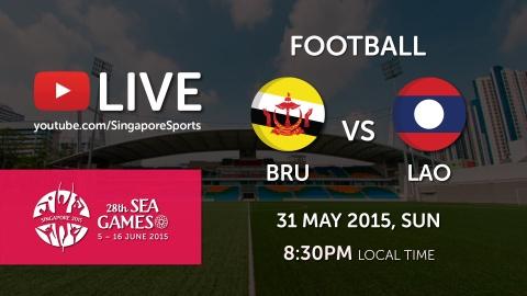 Video truc tiep bong da SEA Games 28: U23 Lao - U23 Brunei hinh anh