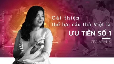 CEO VPMilk: 'Cai thien the luc cau thu Viet la uu tien so 1' hinh anh