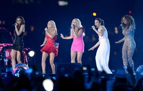 Nhom nu huyen thoai Spice Girls nhieu kha nang se tro lai luu dien hinh anh
