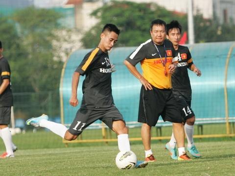 Danh sach tap trung day du cua U23 Viet Nam hinh anh
