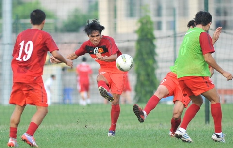 DT Viet Nam hung khoi truoc vong loai Asian Cup 2014 hinh anh