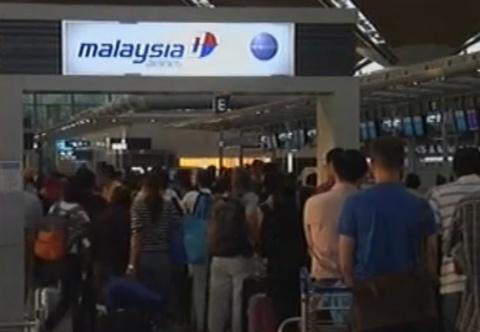 San bay Malaysia hoat dong binh thuong sau tai nan tham khoc hinh anh