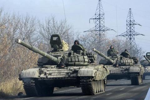 Nga keu goi chinh quyen Ukraine dam phan voi phe noi day hinh anh