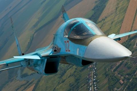 Uy luc kinh hoang 'sieu bom' Su-34 cua Nga hinh anh