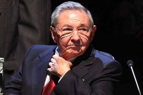 Chu tich Cuba Raul Castro lan dau tham My hinh anh