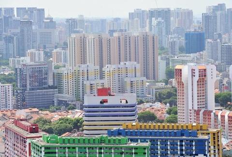Singapore truoc va sau khi chim trong khoi mu hinh anh 5