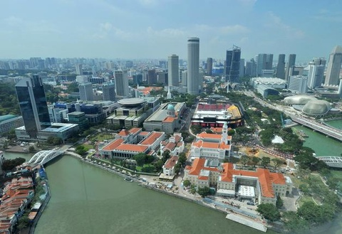 Singapore truoc va sau khi chim trong khoi mu hinh anh 7