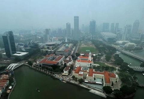 Singapore truoc va sau khi chim trong khoi mu hinh anh 8